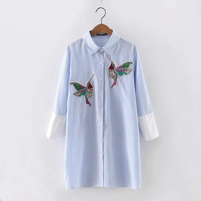Embroidered Cotton Top - Utterly Unique Boutique