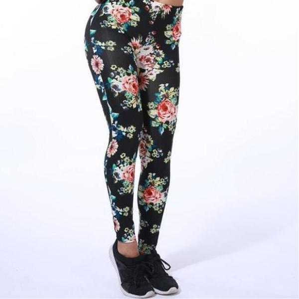 Printed Leggings - Utterly Unique Boutique - 29 Patterns - FREE SHIP - Stylish and versatile these leggings can be dressed up or dressed down. They feature an elastic waist and are ankle length. Available in 29 colors and patterns. From our Utterly Unique Boutique. Description: Length: Ankle, Material: Polyester, Cotton, Pattern: Print, Thickness: Thin, Waist: Elastic.