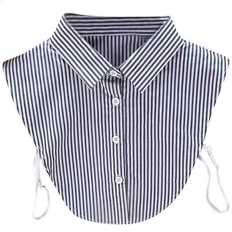Striped Dickey - Utterly Unique Boutique - $10.99 - FREE SHIP - TRENDY - This popular striped dickey can be worn under a sweater, tee or any article of clothing for an awesome look. It features a turn-down collar, buttons, adjustable elastic band and striped pattern. One size fits most. Delivery for US customers 4-6 days. From our Utterly Unique Boutique. Description: Sleeve Length: Sleeveless