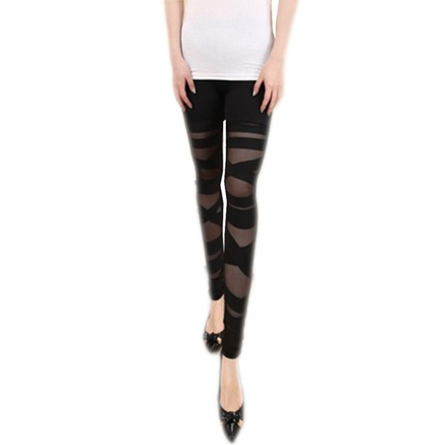 Satin Leggings - Utterly Unique Boutique - FALL - Unique Boutique - Easy to pair these leggings with a Halloween top for a great look. Featuring a mid waistline, breathable and an ankle length. From our unique boutique. Description: Material: Poly, Satin, Waist: Mid, Thickness: Standard, Length: Ankle.