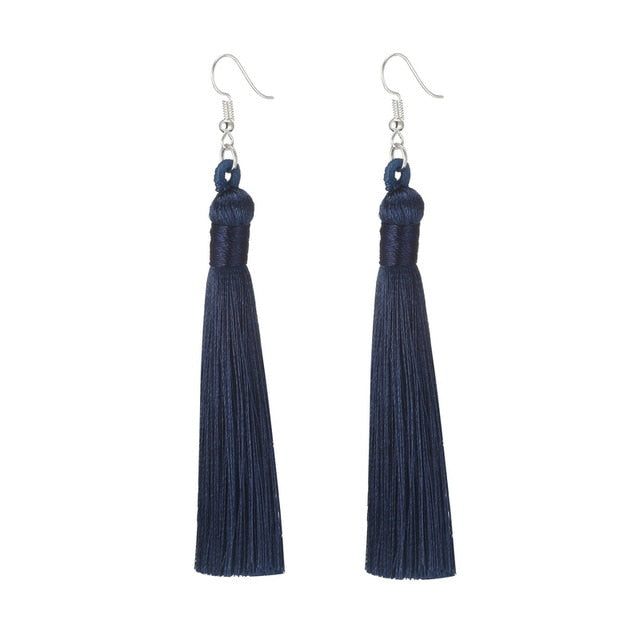 Long Fringe Earrings