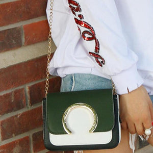 Fashion Ring Crossbody Bag