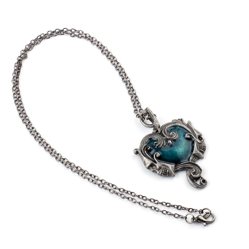 Gothic Skull Necklace - Utterly Unique Boutique