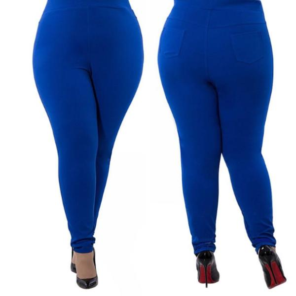 Curvy Women's Pants - Cheap Plus Size Women's Clothing - FREE SHIPPING - A staple for any wardrobe. These versatile pants feature a solid pattern, pockets and a high/elastic waistline. Your choice of royal blue, burgundy or black. From our cheap plus size women's clothing. Description: Closure: Elastic Waist, Length: Full, Waist: High, Material: Polyester, Spandex, Cotton, Pattern: Solid, Fashion Element: Pockets.