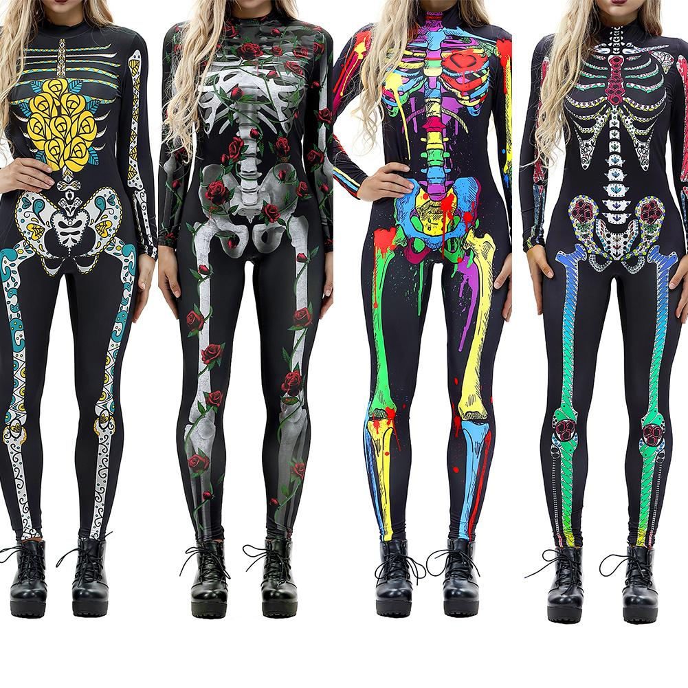 Skeleton Costumes - Be Unique Boutique - Utterly Unique Boutique - Cool - Make it super cute and stand out this year by slipping into this comfortable, ultra-flexible skeleton costume. Choose from 6 colors and patterns. From our be unique boutique. Description: Material: Polyester, Theme: Skeleton, One Full Piece.