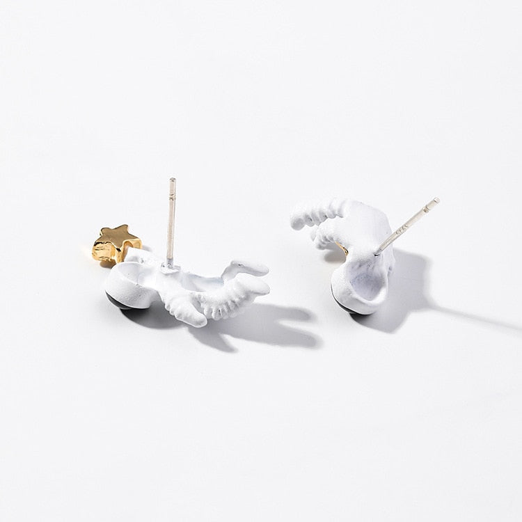 Astronaut Earrings