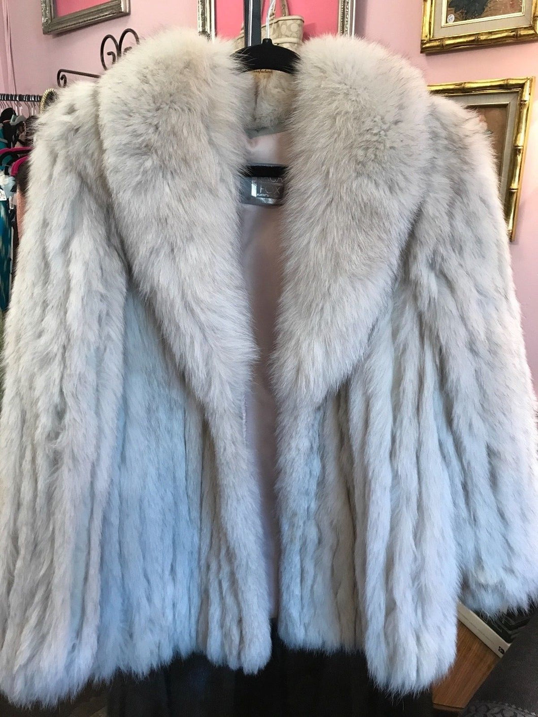 Saga Silver Fox Fur Coat
