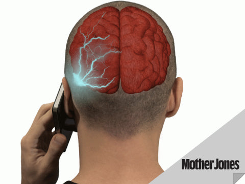 "Mother Jones Article ""Game-Changing"" Study Link Cellphone Radiation to Cancer"
