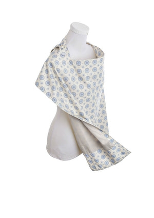 Nursing Cover in Aster - Side View