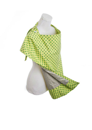 Nursing Cover in Mint - Side View