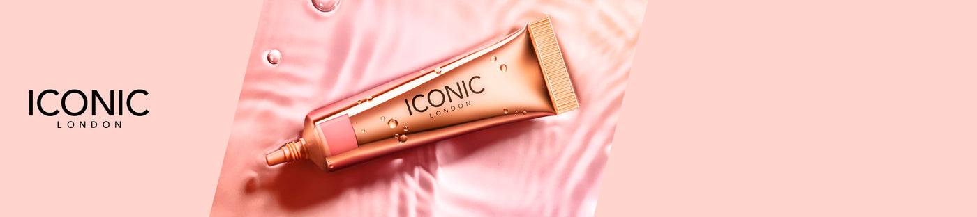 Logo Iconic London, Sheer Blush Iconic London