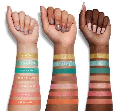 35H HOT SPOT ARTISTRY PALETTE ARM SWATCHES