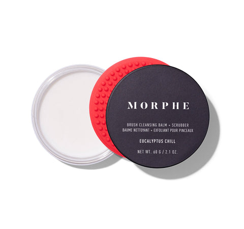 BRUSH CLEANSING BALM + SCRUBBER - EUCALYPTUS CHILL