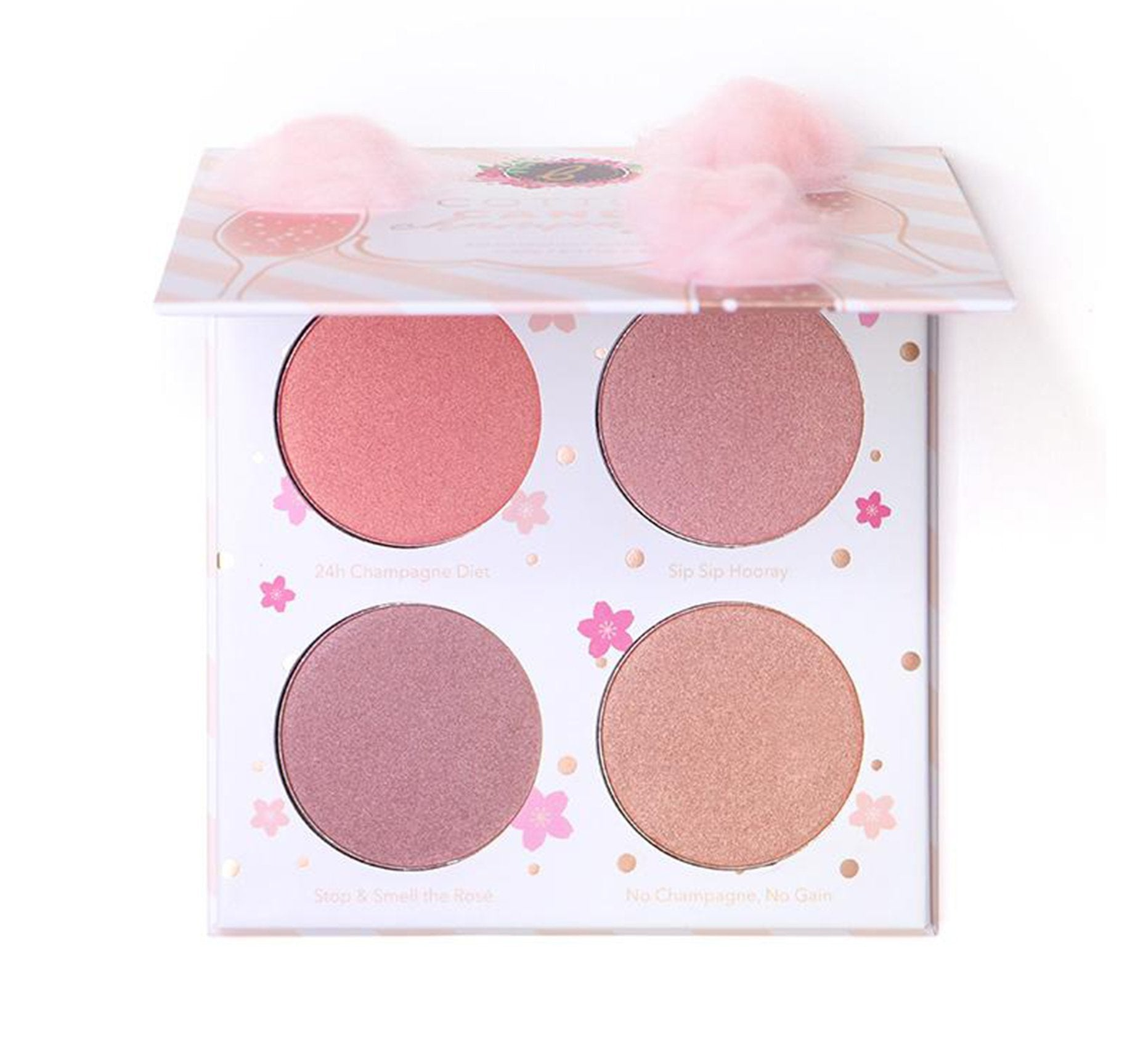 COTTON CANDY CHAMPAGNE BLUSH PALETTE, view larger image