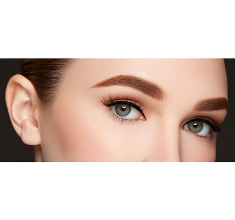 MICRO BROW PENCIL-MOCHA ON MODEL