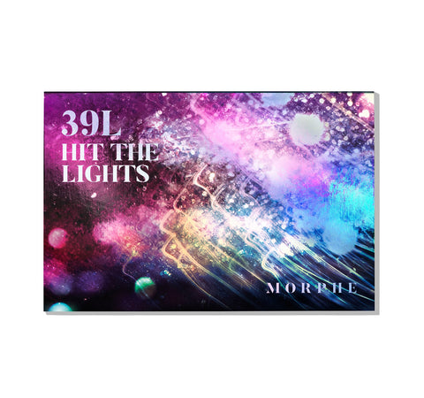 39L HIT THE LIGHTS ARTISTRY PALETTE PACKAGING