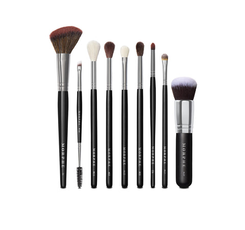 MORPHE X MANNY MUA GLAM BRUSH COLLECTION BRUSHES