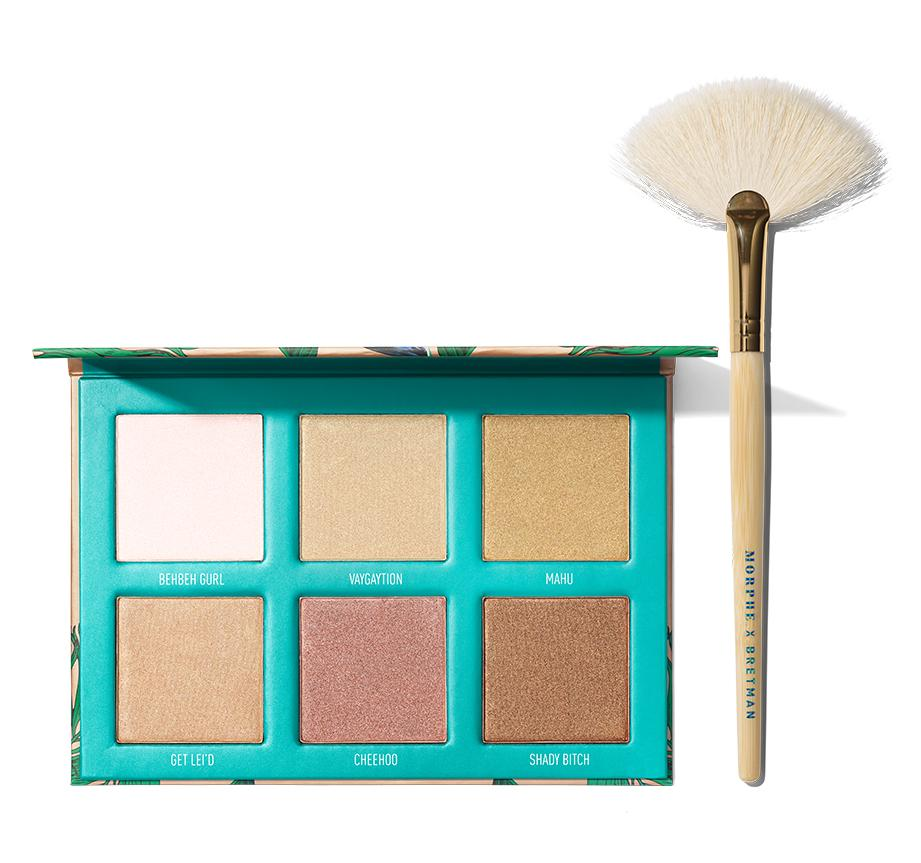 PALETTE D'HIGHLIGHTERS BRETMAN'S BABE IN PARADISE, agrandir l'image