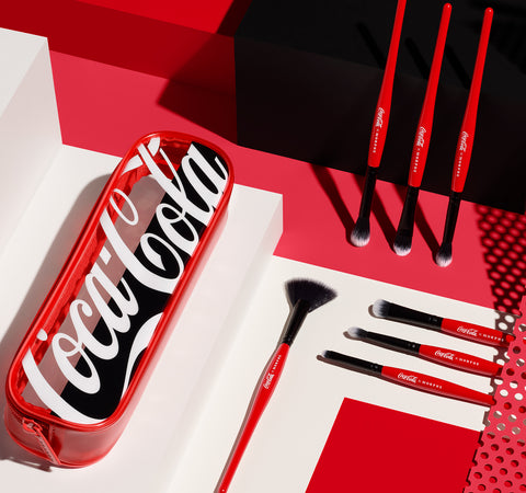 COLLECTION DE PINCEAUX COCA-COLA X MORPHE SWEEP IT REAL
