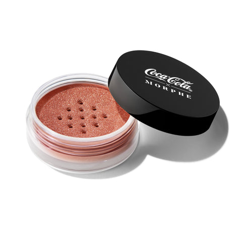COCA-COLA X MORPHE GLOWING PLACES LOOSE HIGHLIGHTER - SERVE SPARKLING