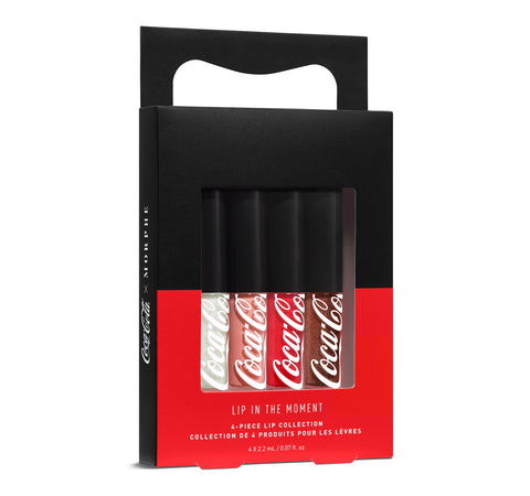 COCA-COLA X MORPHE LIP IN THE MOMENT LIPPENKOLLEKTION VERPACKUNG