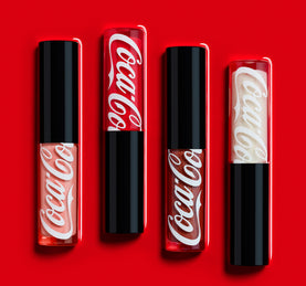 COCA-COLA X MORPHE LIP IN THE MOMENT LIP COLLECTION