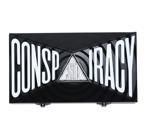 CONSPIRACY EYESHADOW/ PRESSED PIGMENT PALETTE PACKAGING