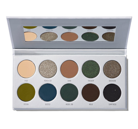 PALETTE DE FARDS À PAUPIÈRES DARK MAGIC MORPHE X JACLYN HILL