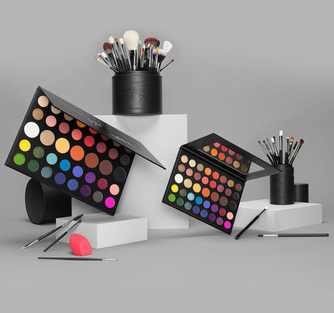 MORPHE X JAMES CHARLES THE EYE BRUSH SET AND PALETTE