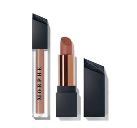 OUT & A POUT COCOA NUDE LIP DUO