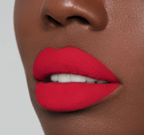 MATTE LIQUID LIPSTICK - MORPHE ON MODEL