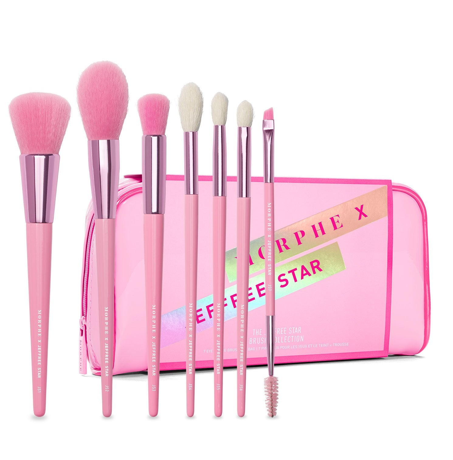 THE JEFFREE STAR EYE & FACE BRUSH COLLECTION, view larger image