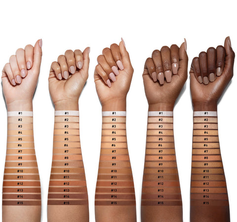 FILTER EFFECT FINISHING POWDER - #FILTER11 ARM SWATCHES