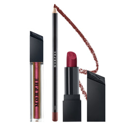 OUT & A POUT SMOKY RED LIPPEN-TRIO