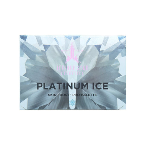 PACKAGING DE LA PALETTE PROFESSIONNELLE PLATINUM ICE