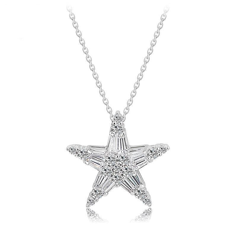 Star Necklace- Stella - PoetryDesigns