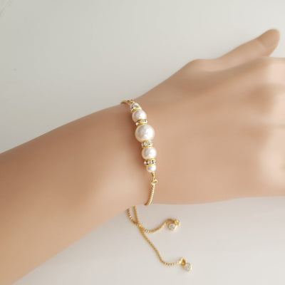 Pearl Bracelet for Brides and Bridesmaids