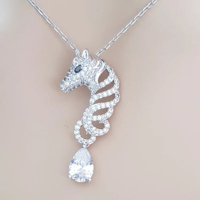 Horse Necklace- Lucky