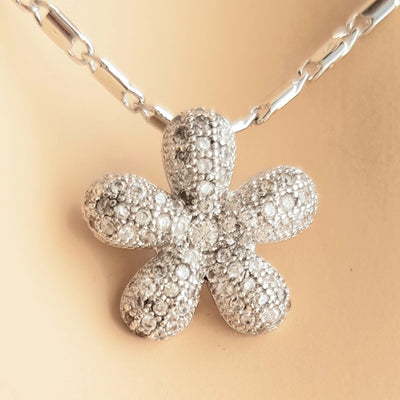 Small Flower Necklace-Bloom