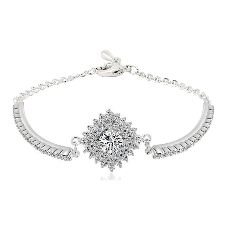 Bracelet for Girls in Cubic Zirconia-Itzel