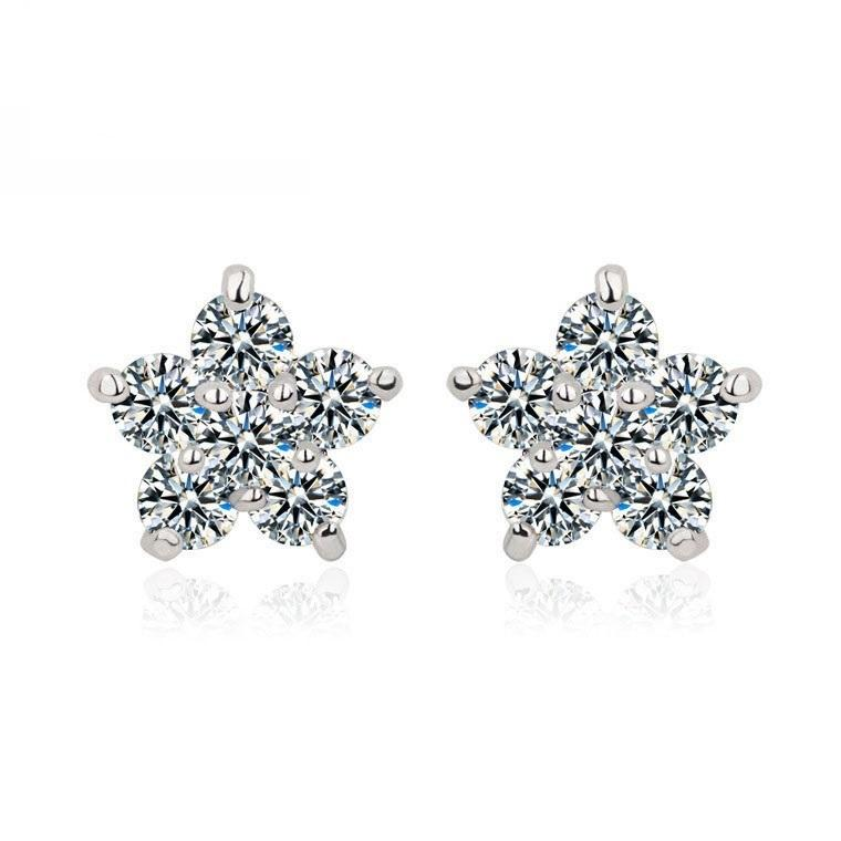 Cluster Stud Earrings- Phoebe
