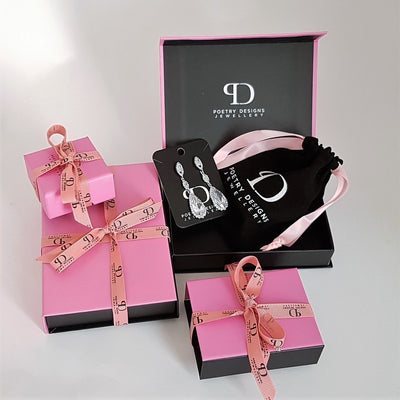 Gift packaging by Poetry Designs