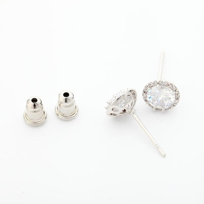Small Stud Earrings- April
