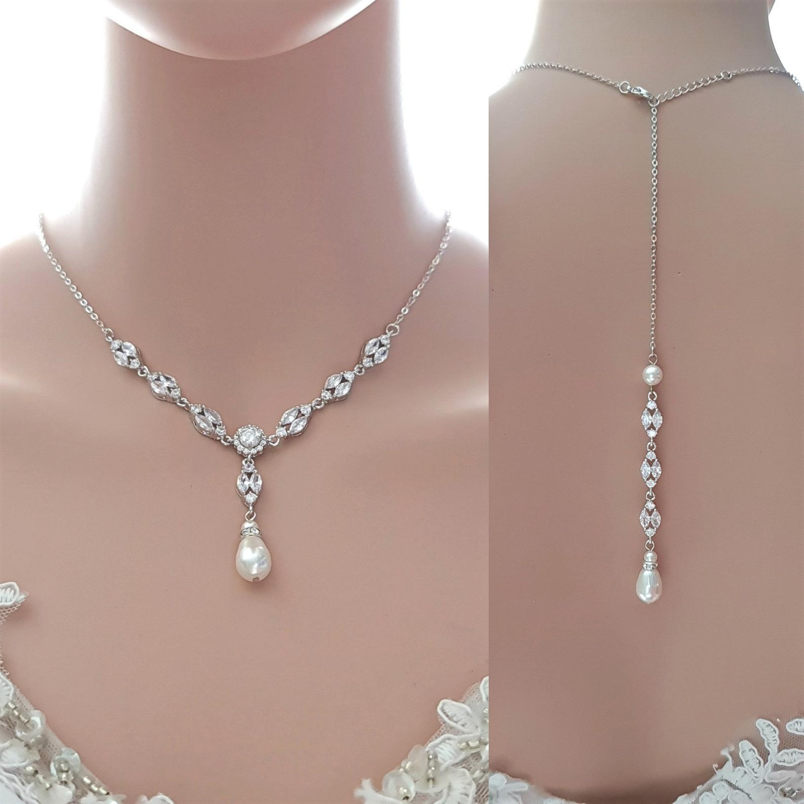 3 Piece Jewelry Set for Wedding- Hayley - PoetryDesigns