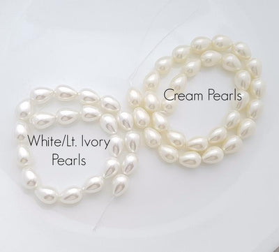 Ivory and Cream Pearl color for Necklace