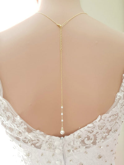 Gold Necklace & Backdrop for Brides-Ginger