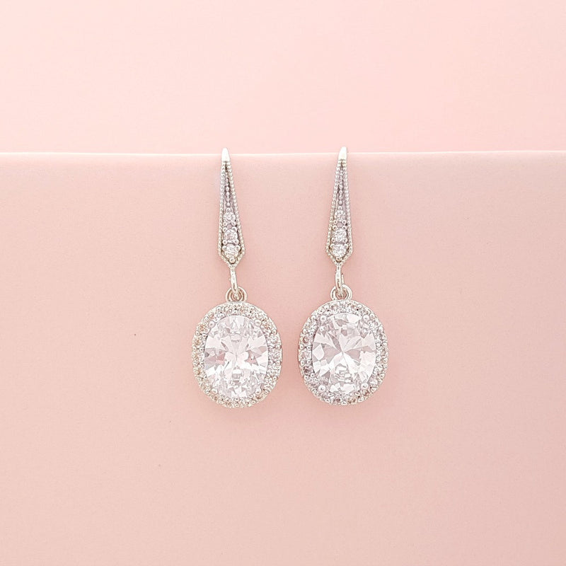 Small Dangle Earrings-Emily