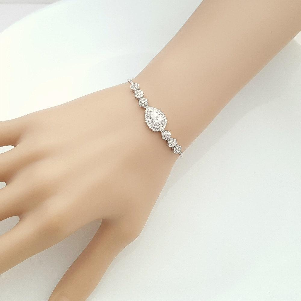 Wedding Slider Bracelet- Joni