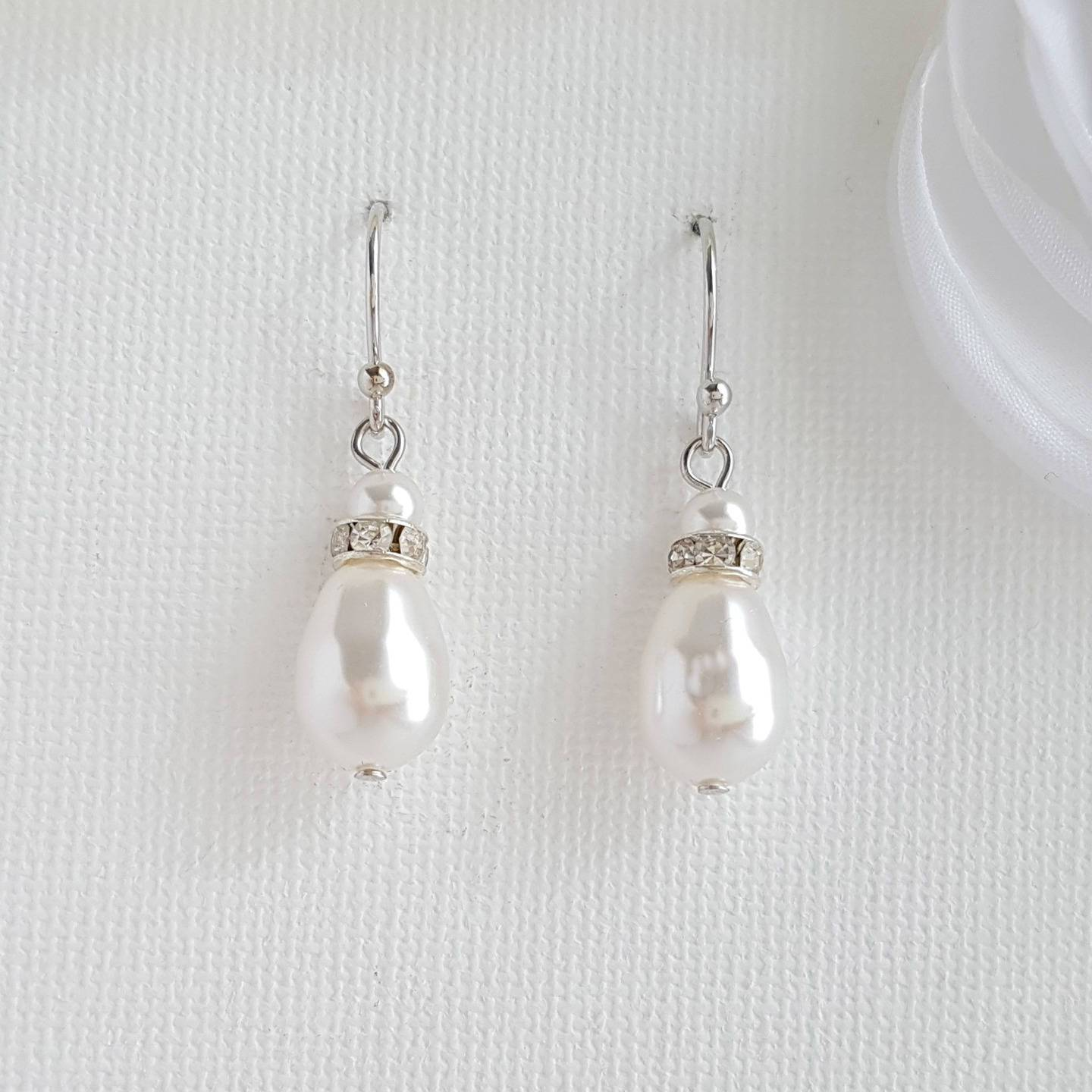 Simple Earrings-June - PoetryDesigns