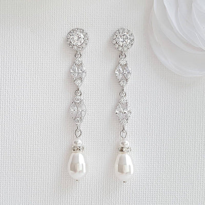 Clip On earrings for Brides and Weddings